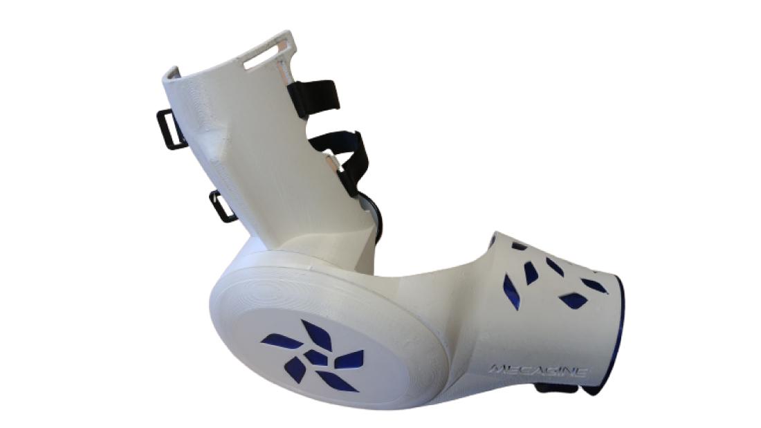 Conception d'un exosquelette 100% mécanique